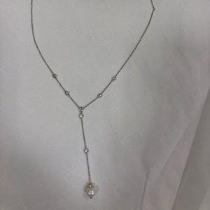 Nadri Pearl necklace drop